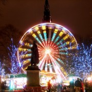 Edinburgh at Christmas