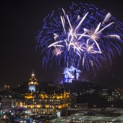 Edinburgh's Hogmanay photo by Grant Ritchie
